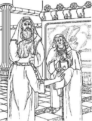 kleurplaten nt jezus in de tempel kleurplatendatabase
